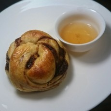 Wuyi Oolong Infused Cinnamon Buns